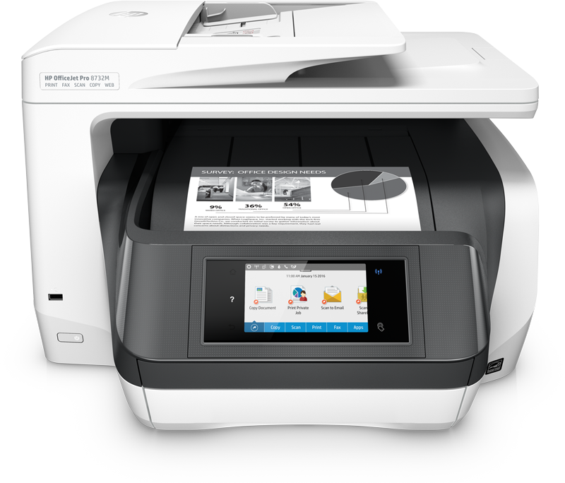 how to setup print scan or fax on your hp printer